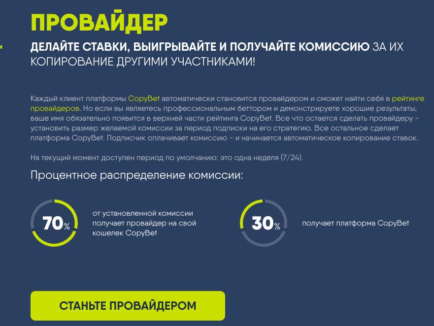 Сайт copybet.com