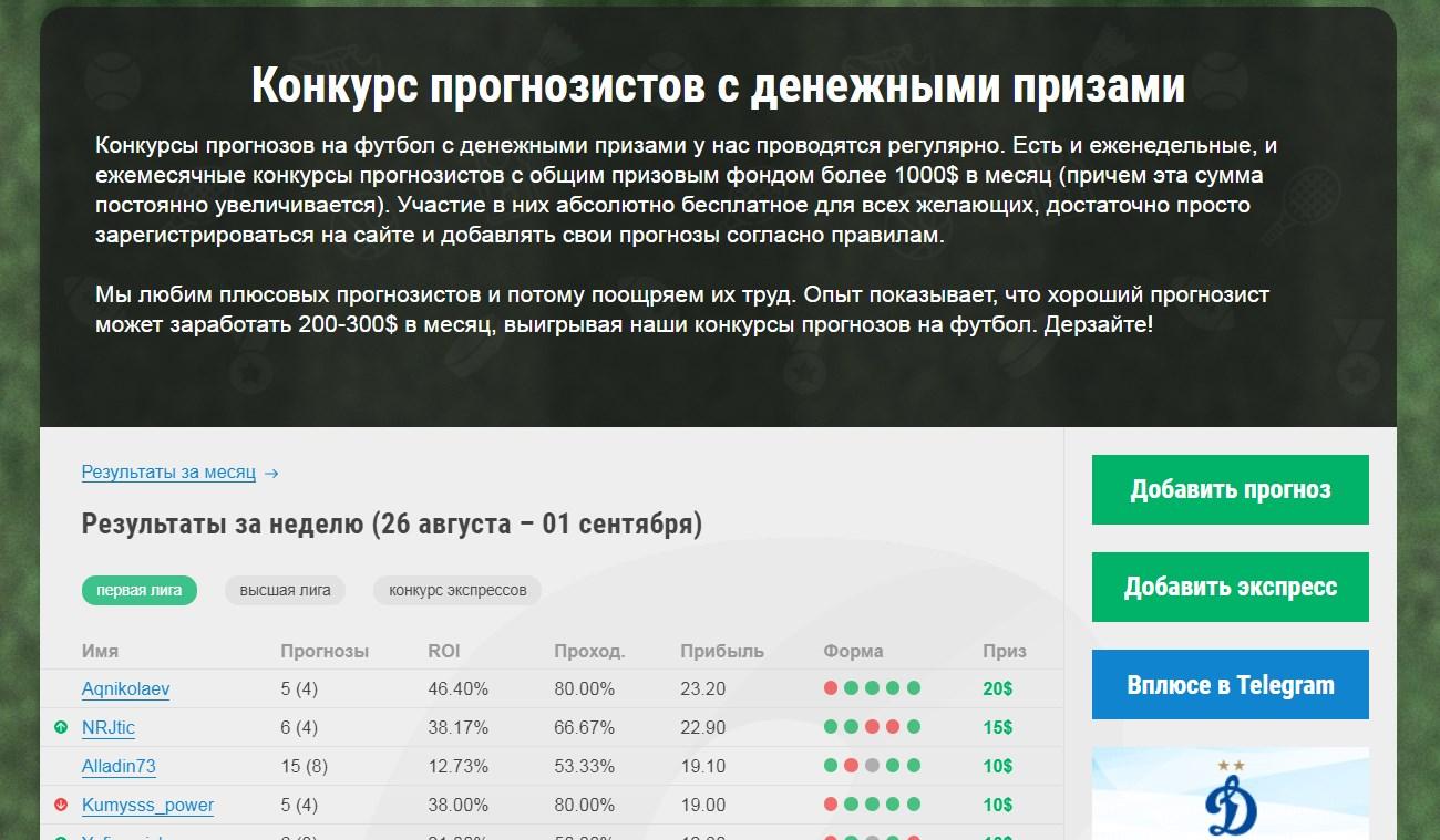 Конкурс на vpluse.ru